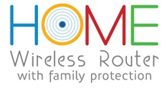 Home wireles router security